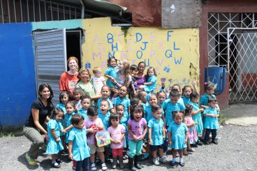 30 beautiful Kids that have a few hours of love and care at the Maria Aux Daycare every day